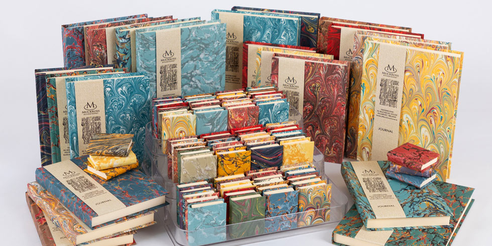 Muckross Bookbinding journals